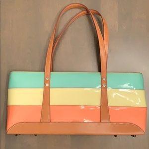 Max New York Tri-colored Handbag Purse